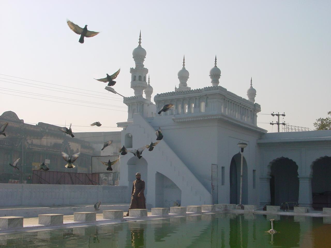 Une mosquée (photo Clarisse BROCHIER)