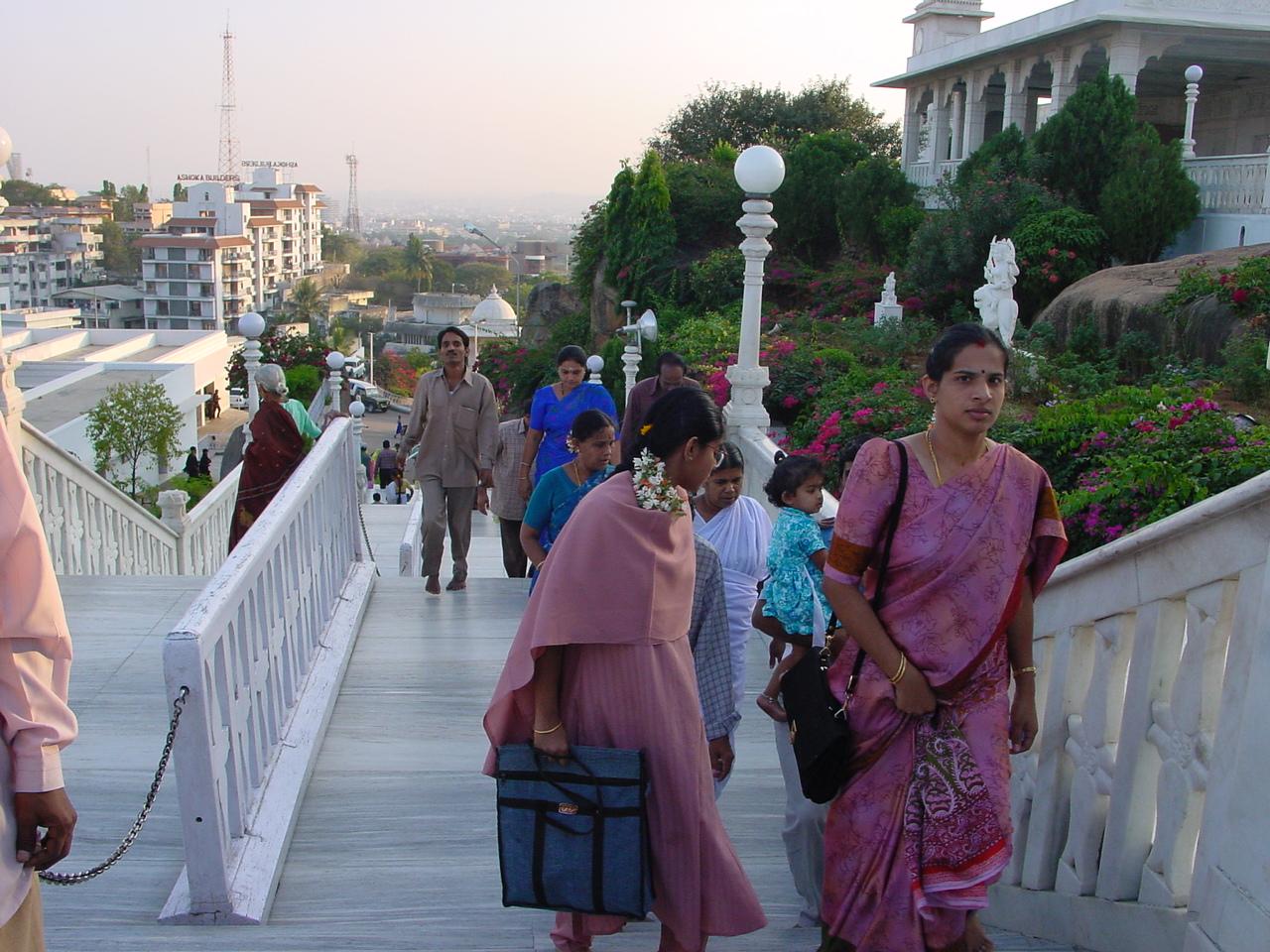 Gens d'Hyderabad  (photo Clarisse BROCHIER)