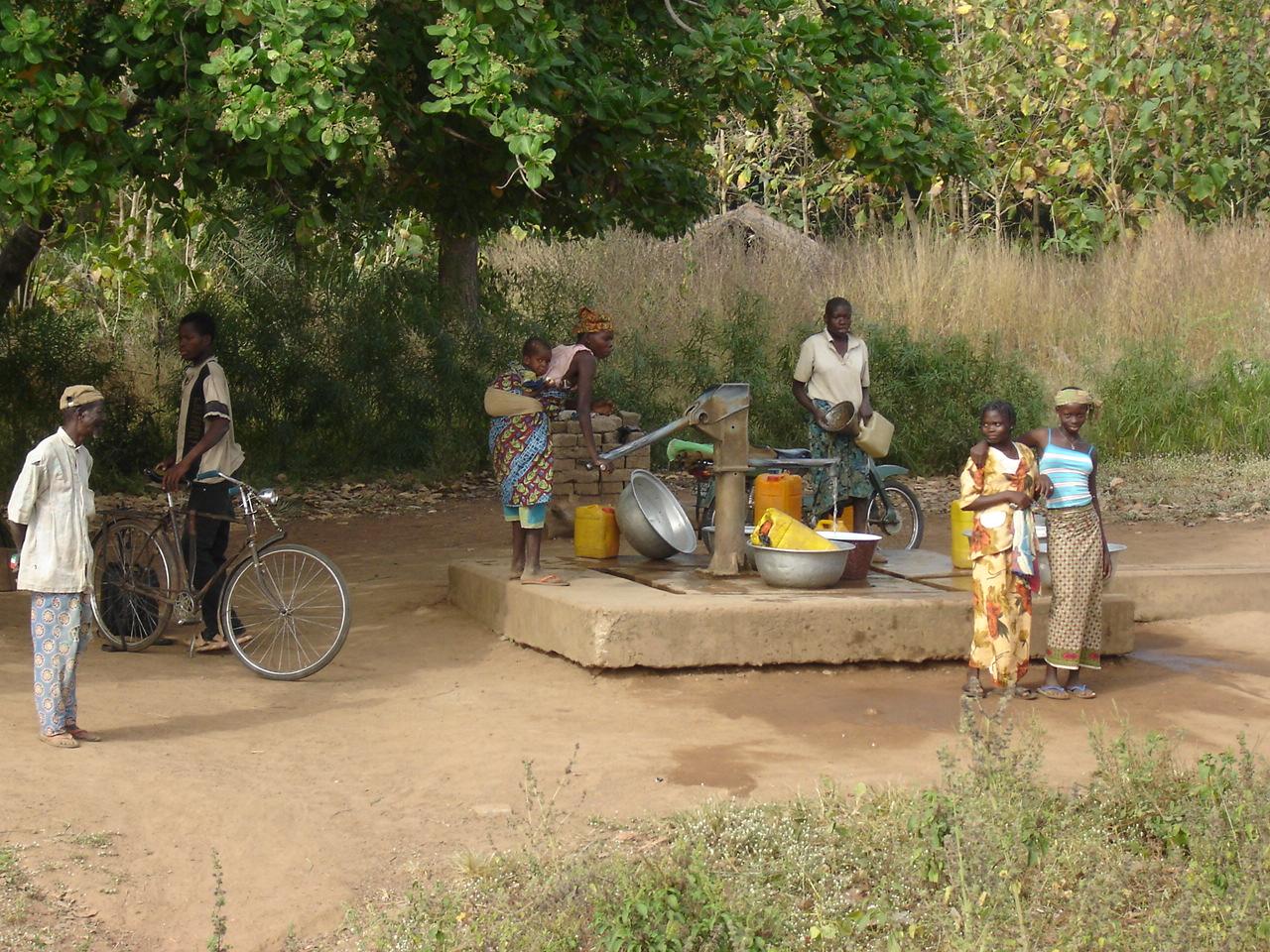 A la borne fontaine
