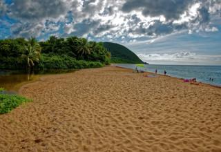 La plage de Grande Anse de Deshaies
